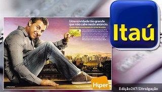 Campanha do Itaú lançada na TV