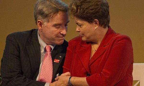 Eike Batista e Dilma Rousseff | Divulgação)